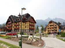 Nové hotely v Tatranské Lomnici