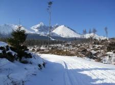 Zasněžené Tatry