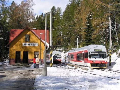 Vlaková zastávka Vyšné Hágy